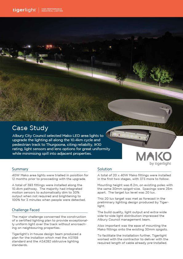 2020 Case Study - Albury Thurgoona Trail