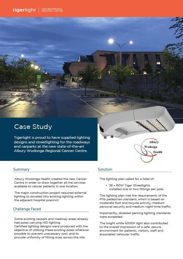 2020 Case Study - Albury Wodonga Regional Cancer Centre