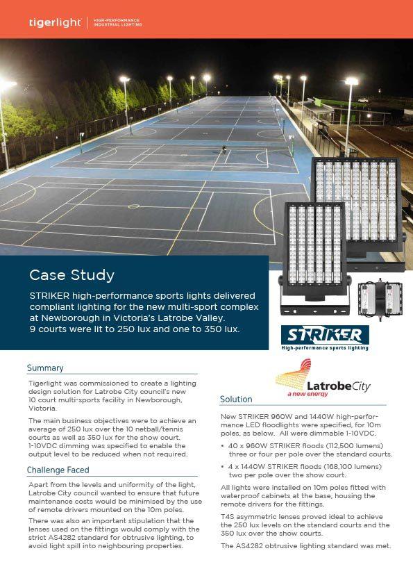 2020 Case Study - Newborough Multi-Sports Complex