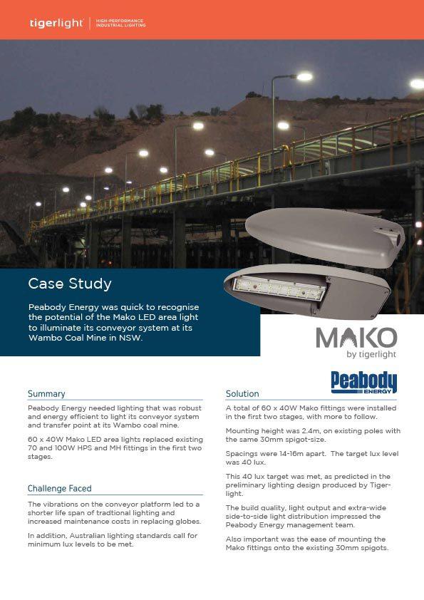 2020 Case Study - Peabody Energy Wambo Coal