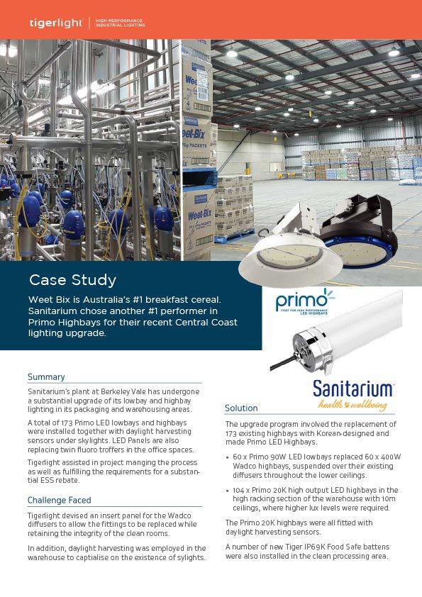 2020 Case Study - Sanitarium